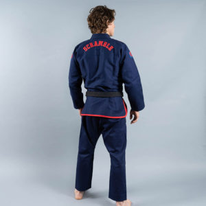 scramble bjj gi athlete pro navy 3