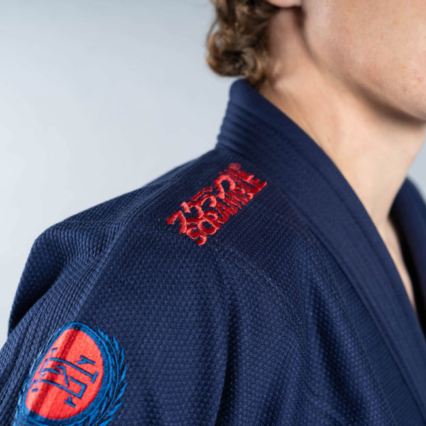 scramble bjj gi athlete pro navy 4
