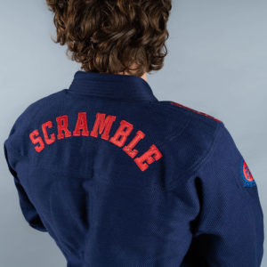 scramble bjj gi athlete pro navy 5