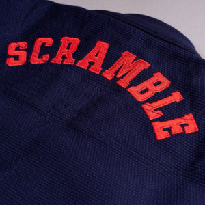 scramble bjj gi athlete pro navy 6