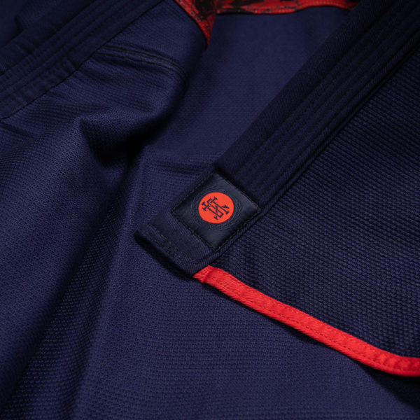 scramble bjj gi athlete pro navy 8