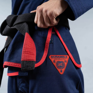 scramble bjj gi athlete pro navy 9