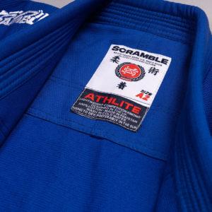 scramble bjj gi athlite blue 8