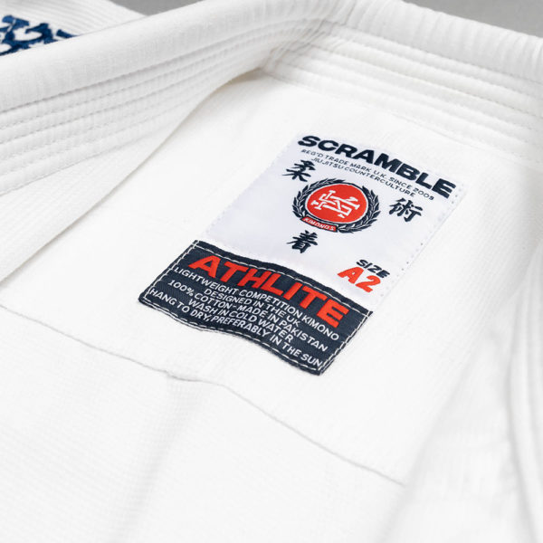 scramble bjj gi athlite white 8