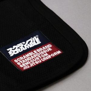 scramble bjj gi standard issue semi custom v3 black 3