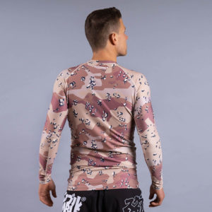 scramble rashguard base choc chip 3