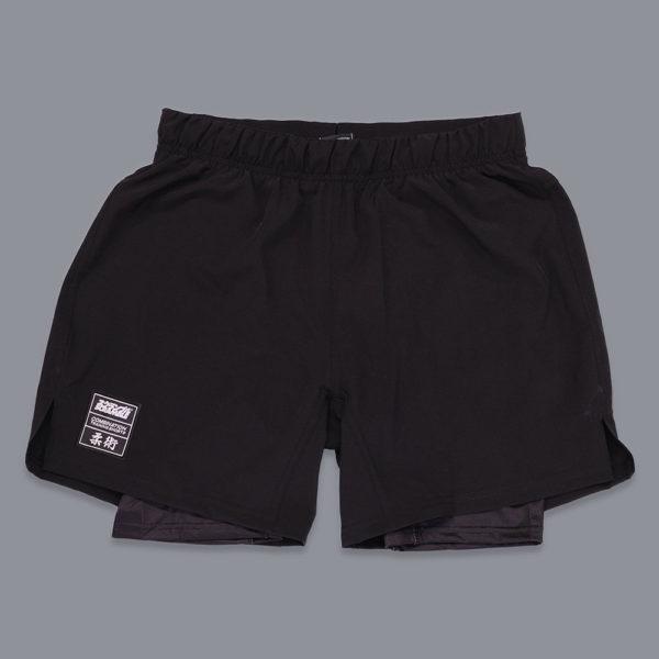 scramble shorts combination black 1