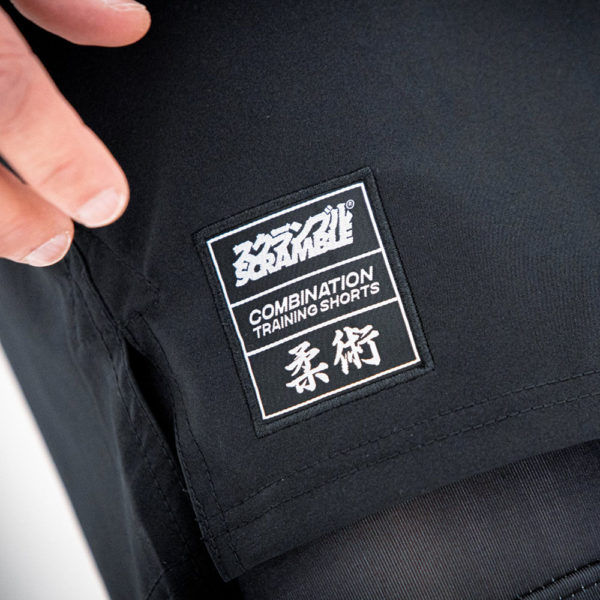 scramble shorts combination black 2