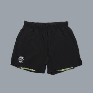 scramble shorts combination black tiger camo 1