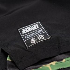 scramble shorts combination black tiger camo 3