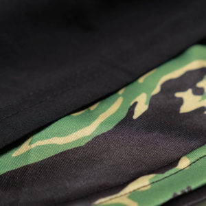 scramble shorts combination black tiger camo 4