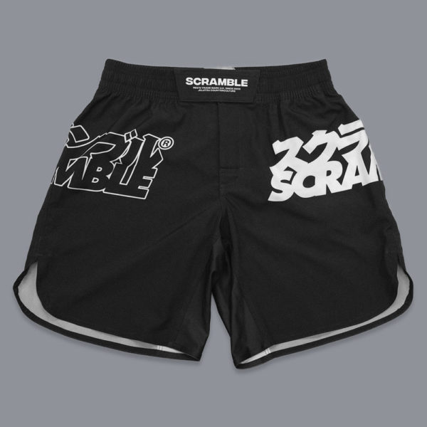 scramble shorts core black 1