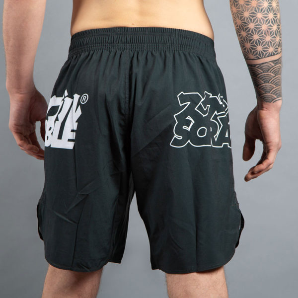 scramble shorts core black 3