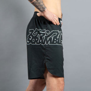 scramble shorts core black 4