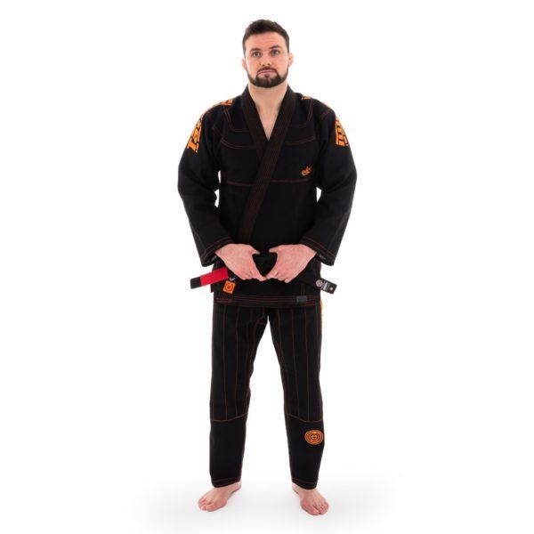 tatami bjj gi estilo 6 0 black orange 1