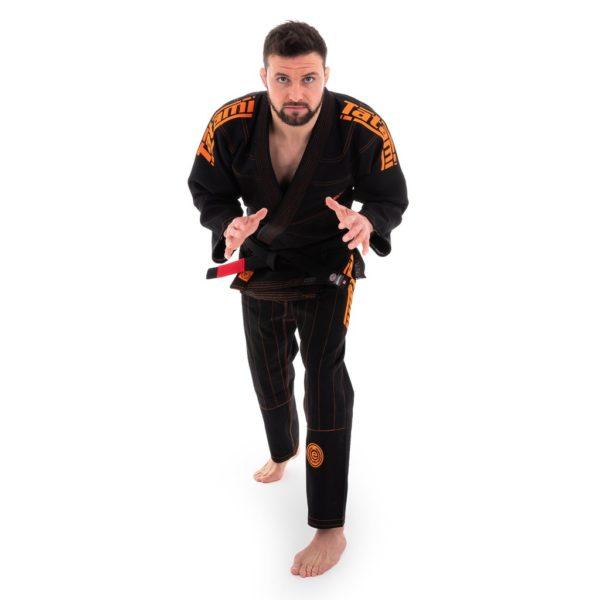 tatami bjj gi estilo 6 0 black orange 5
