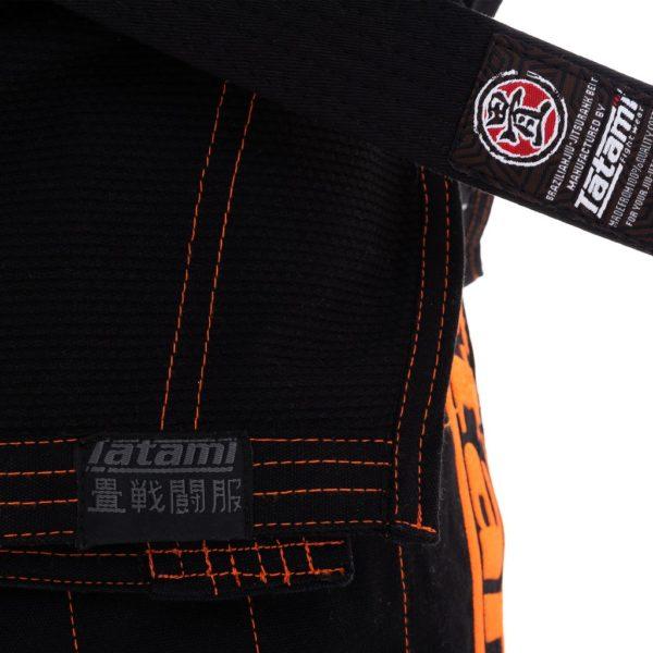 tatami bjj gi estilo 6 0 black orange 7