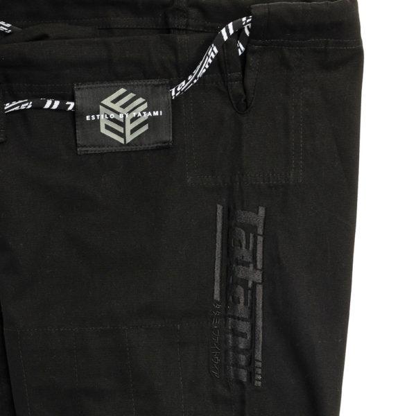 tatami bjj gi estilo black label black black 14