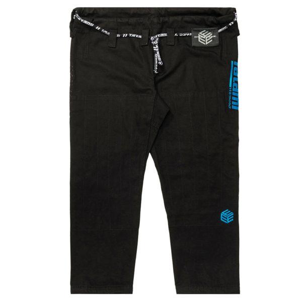 tatami bjj gi estilo black label black blue 13