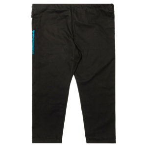 tatami bjj gi estilo black label black blue 15