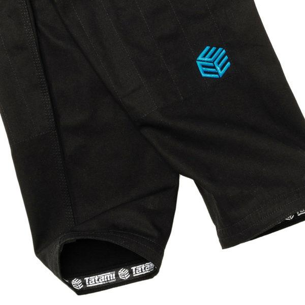 tatami bjj gi estilo black label black blue 16