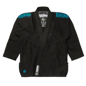 tatami bjj gi estilo black label black blue 2