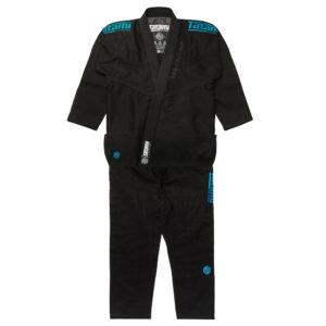 tatami bjj gi estilo black label black blue 20