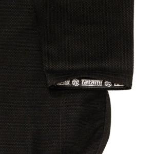 tatami bjj gi estilo black label black red 12