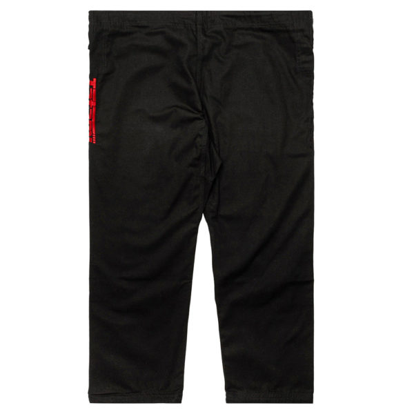 tatami bjj gi estilo black label black red 15