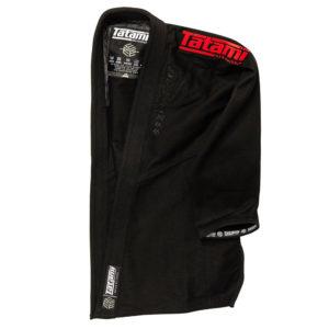 tatami bjj gi estilo black label black red 4