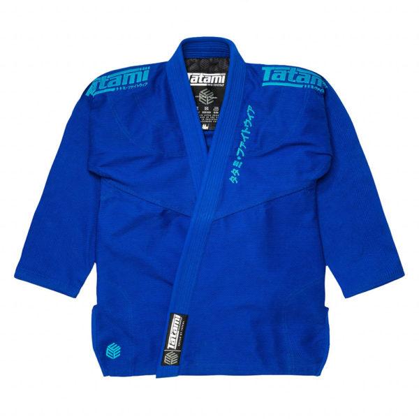 tatami bjj gi estilo black label blue blue 22