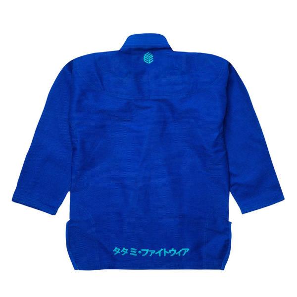 tatami bjj gi estilo black label blue blue 3