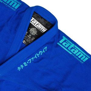tatami bjj gi estilo black label blue blue 4