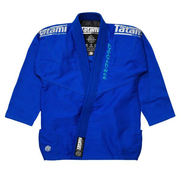 tatami bjj gi estilo black label blue grey 22