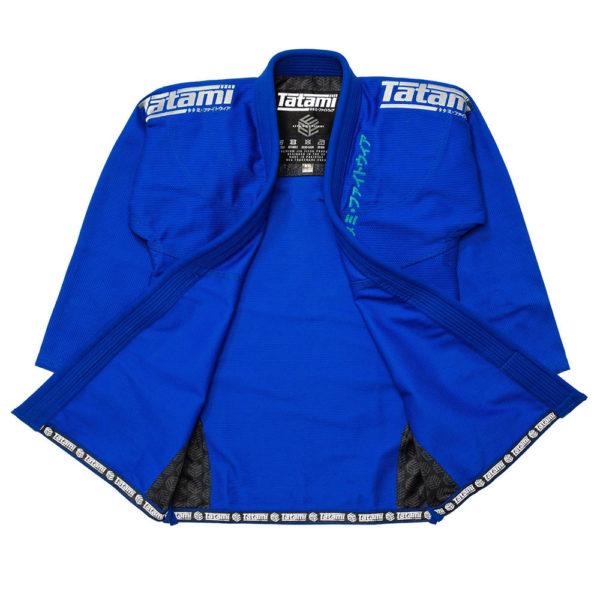 tatami bjj gi estilo black label blue grey 23