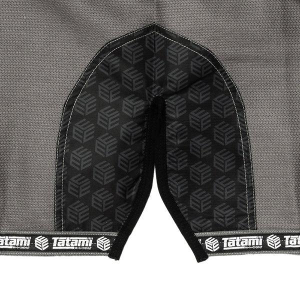tatami bjj gi estilo black label grey black 12