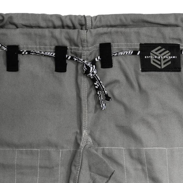 tatami bjj gi estilo black label grey black 17