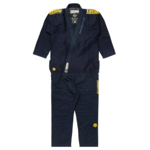 tatami bjj gi estilo black label navy gold 20