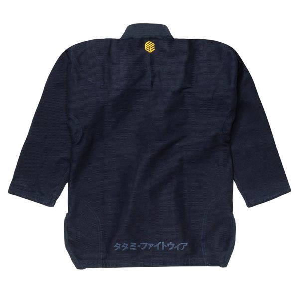tatami bjj gi estilo black label navy gold 5
