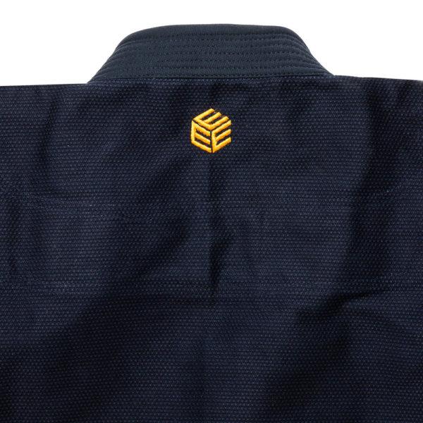 tatami bjj gi estilo black label navy gold 7