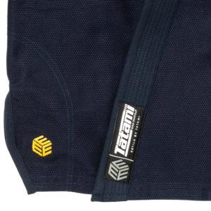 tatami bjj gi estilo black label navy gold 8