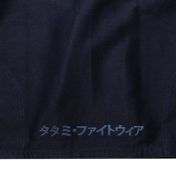 tatami bjj gi estilo black label navy gold 9