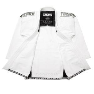 tatami bjj gi estilo black label white grey 19