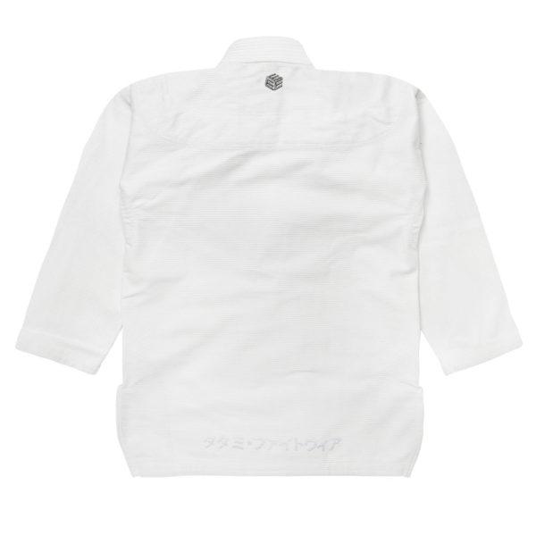 tatami bjj gi estilo black label white grey 2