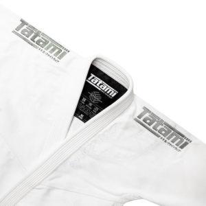 tatami bjj gi estilo black label white grey 5