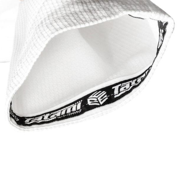 tatami bjj gi estilo black label white grey 9