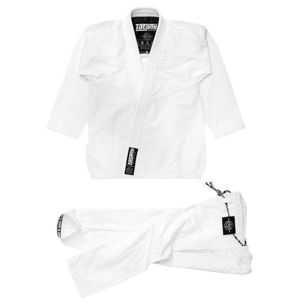 tatami bjj gi estilo black label white white 1
