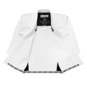 tatami bjj gi estilo black label white white 3