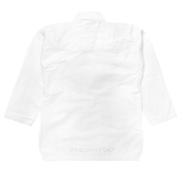 tatami bjj gi estilo black label white white 4