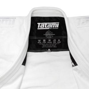 tatami bjj gi estilo black label white white 9